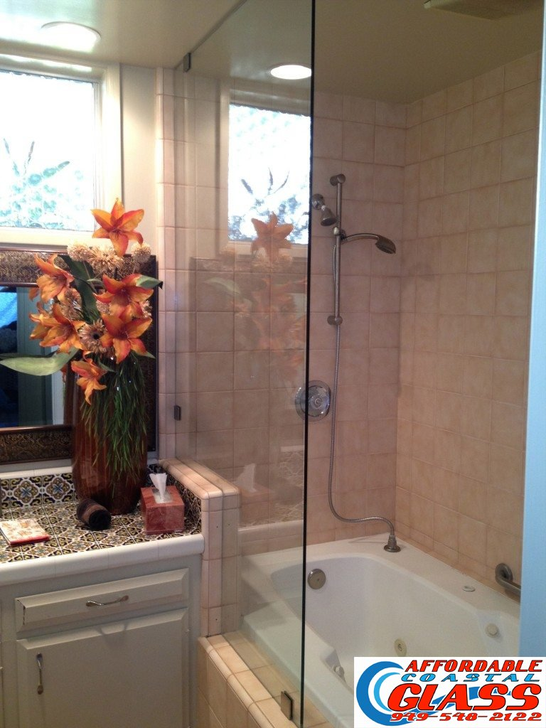 Laguna-Beach-Shower-Doors-1 & Laguna Beach Glass Railing and Shower Doors - Affordable Coastal ... Pezcame.Com